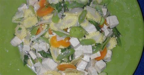 Kingmix Jagung Manis cah jagung muda mix tahu 4 resep cookpad