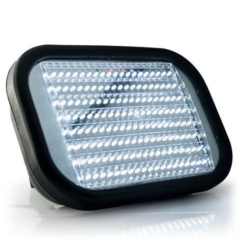 led diode verbrauch led strahler akku arbeitsleuchte bauleuchte accu licht le 10w 50w 160 leds ebay