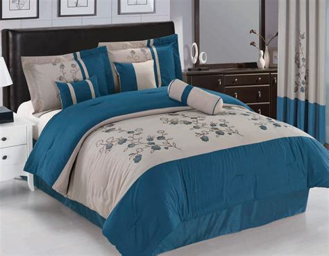 blue and beige bedding blue and beige comforter set 28 images 6pc floral