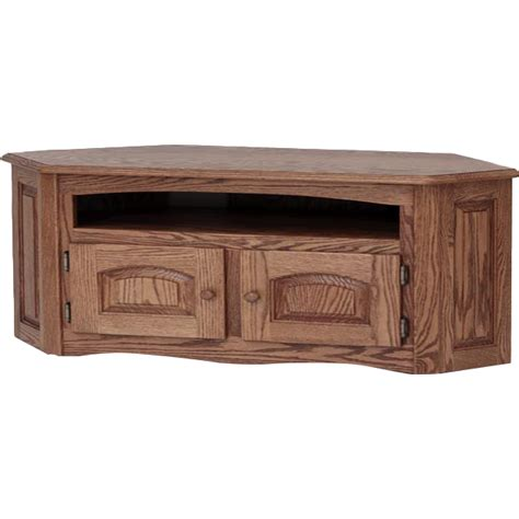 country style tv stands solid oak country style corner tv stand w cabinet 53