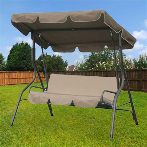 person swing replacement canopy garden winds
