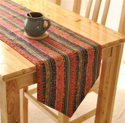 Dining Table Runners Vintage Table Runner Cloth Dining Table Mat Coffee Tea Table Tablecloth Bar Restaurant