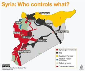 Syria Civil War Map by Syrian Rebels Deny Losing Ground In Aleppo News From Al