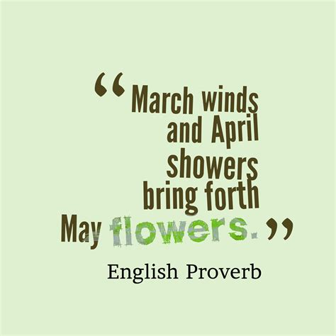 April Showers Bring May Flowers Poem by Poem Of April Showers Bring May Flowers