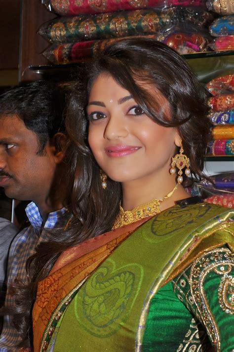 kajal agarwal tattoo on neck kajal agarwal hot saree stills 3 high resolution pictures