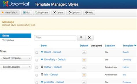 tutorial in joomla joomla 3 0 tutorial how to activate joomla template