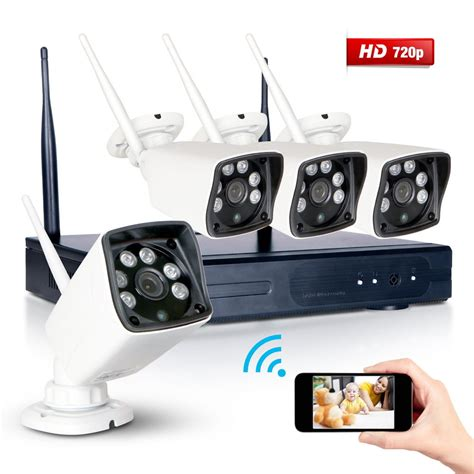 wireless 4ch nvr 720p 1800tvl outdoor cctv home