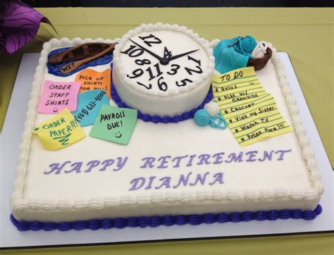 Retirement Cake Decorations by Retirement Cake Cake Decorating Recipes