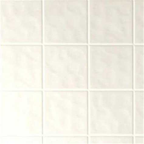 1 8 in x 4 ft x 8 ft tone white tile board 144721 the