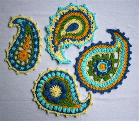 crochet paisley motif pattern free crochet paisley pattern how to crochet