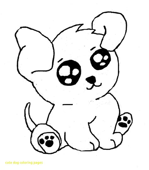 coloring pages of cute pets cute dog coloring pages with creative decoration cute dog