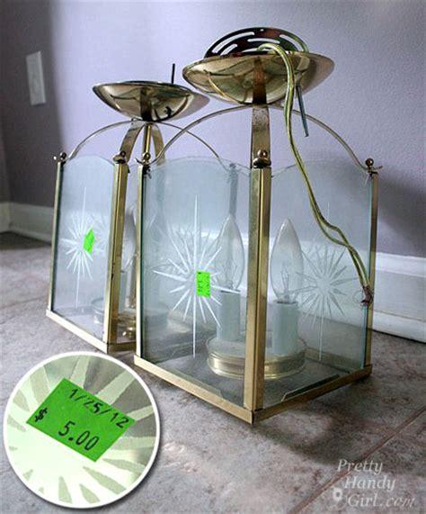 Updating Brass Light Fixtures Circle Pattern Light Fixture Updating A Brass Light Fixture Pretty Handy