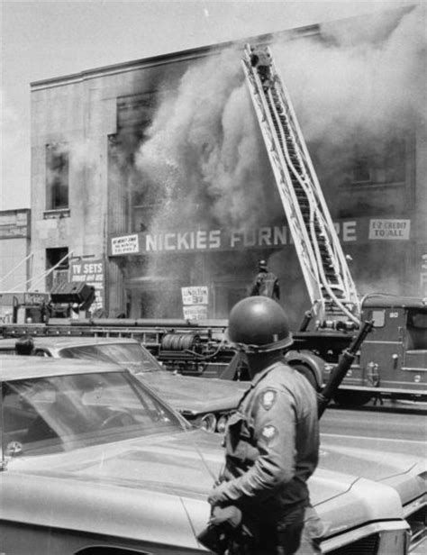 Walter P. Reuther Library (26015) Riots, Rebellions, Arson