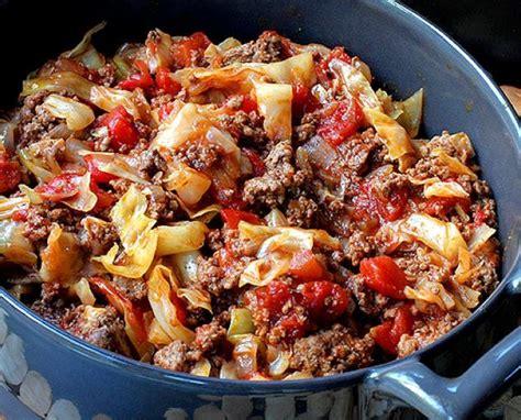 unstuffed cabbage rolls foodie pinterest