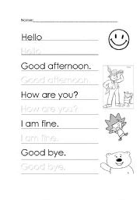 greetings in worksheet teaching worksheets greetings and farewells