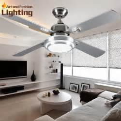Dining Room Ceiling Fans With Lights Ceiling Fan Lights Large 52 Inches Modern