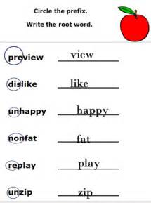 prefixes and suffixes worksheets free printable 2nd grade