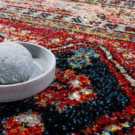 teppiche orientalisch modern designer teppich orientalisch schwarz rot design teppiche
