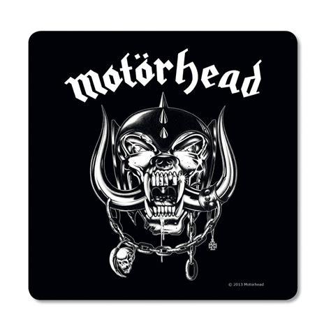 Motorhead Logo motorhead logo coaster mat retro rock lemmy