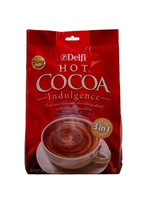 Delfi Cacao delfi cocoa indulgence bag 20x25g klikindomaret