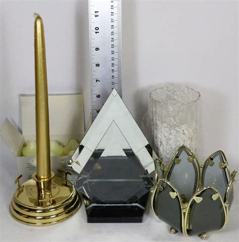 Flat Candle Holders by Flat With Partylite Myriad Images Candle Holder