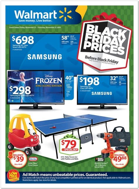 black friday prices at walmart wal mart the pre black friday sale ad is here prices
