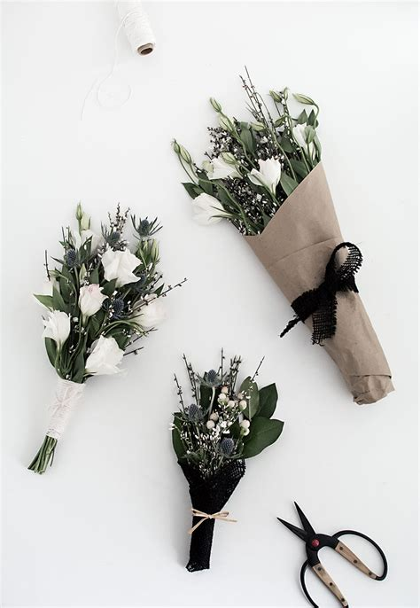 three easy to be 3 easy ways to wrap flowers