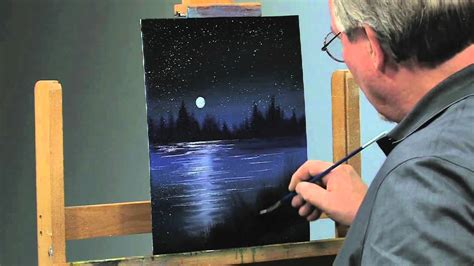 paint    paint  night scene  oils part
