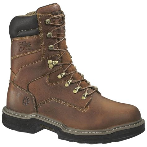 wolverine work boots for wolverine 174 s 8 quot multishox soft toe boots
