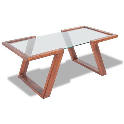 Coffee Table Solid Vidaxl Coffee Table Solid Acacia Wood Brown 100x50x40 Cm Vidaxl Co Uk