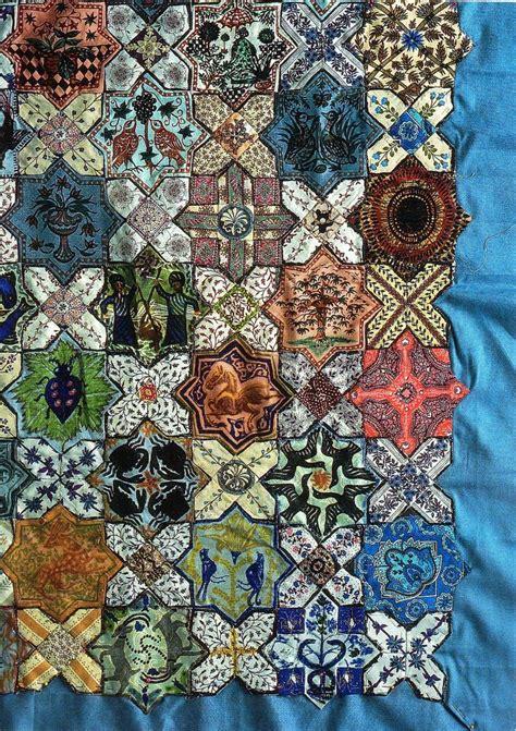 islamic tiles detail by boston paper