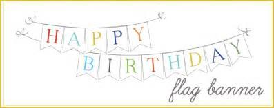 sissyprint happy birthday banner