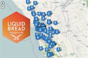 map of california breweries deboomfotografie