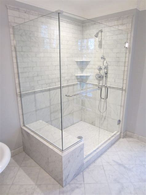 shower with bench ideas fabulous shower bench seat ideas with glass door marble floor