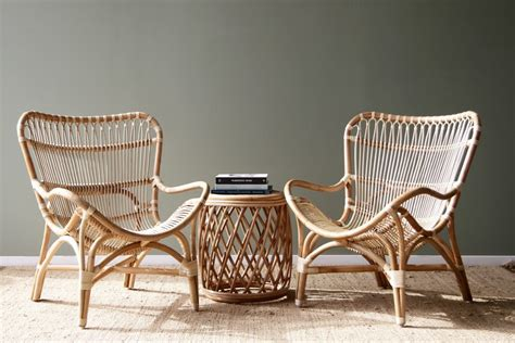 butterfly chair naturally cane rattan  wicker furniture