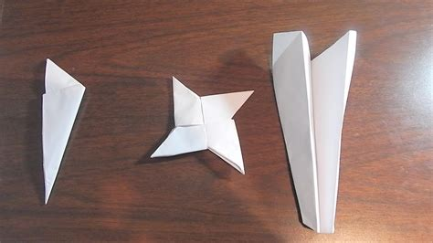 How To Make Cool Paper Stuff - 3 cool things to make out of paper bros