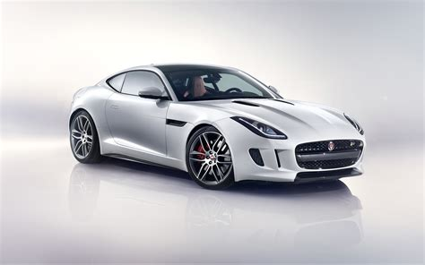 f type jaguar 2014 2014 jaguar f type r coupe white wallpaper hd car wallpapers