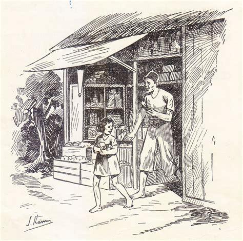 konteks ruang belanja imajinasi bocah dan masa lalu