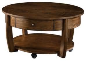 Circular Coffee Table Hammary Concierge Coffee Table Multicolor T3001805