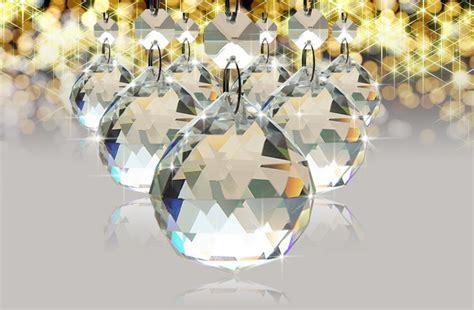 Chandelier Crystal Prisms 50mm Clear Crystal Chandelier Lamp Ball Window Suncatchers