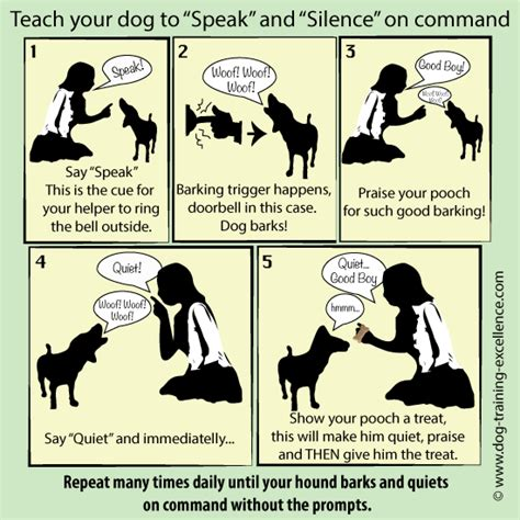 how to train dog to stop barking stop barking dog teach your hound the speak command
