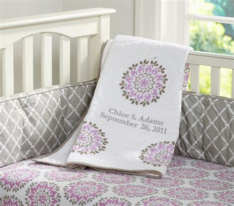 Purple And Grey Nursery Dream Nursery Pinterest Purple Grey Crib Bedding