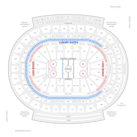 joe louis arena seat map joe louis arena suite seating chart brokeasshome