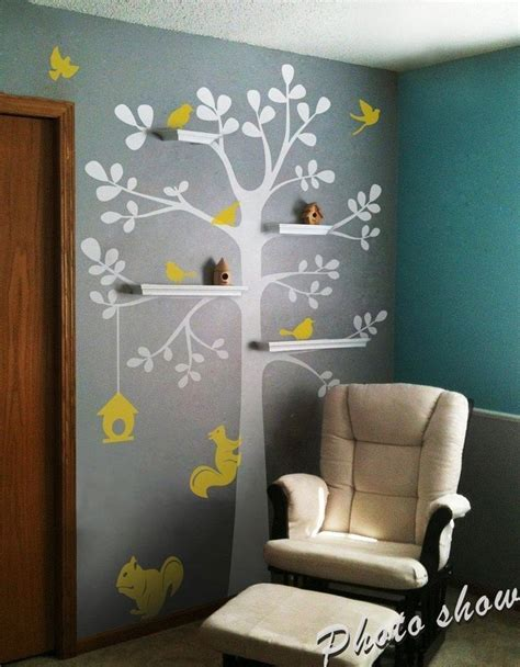 chambre d enfant original 17 meilleures id 233 es 224 propos de sticker motif arbre pour