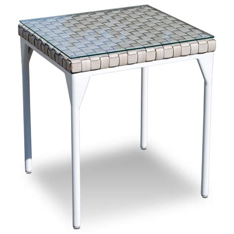 glass top outdoor side table skyline design brafta outdoor side table with glass top