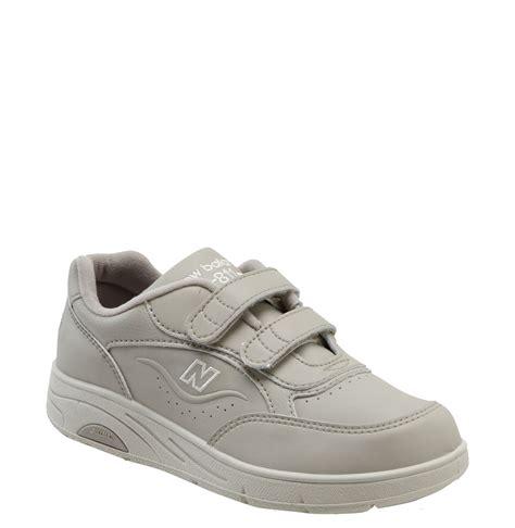 velcro shoes for new balance w811 velcro walking shoe in gray bone