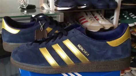 Harga Adidas Munchen Spzl adidas munchen spzl trainer unboxing on foot
