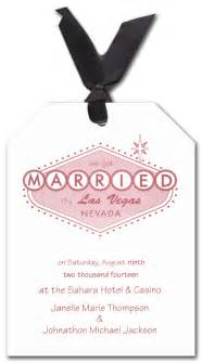 Already married in vegas wedding invitations by invitation