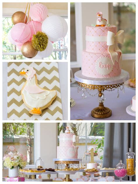 birthday themes elegant kara s party ideas elegant mother goose birthday party