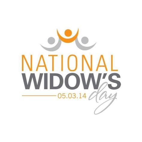 National S Day May 3rd National Widow S Day Widow Wednesday